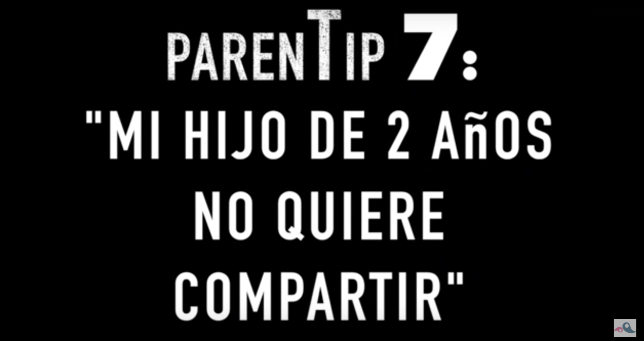 "ParenTip 7: ""El meu fill de 2 anys no vol compartir"""