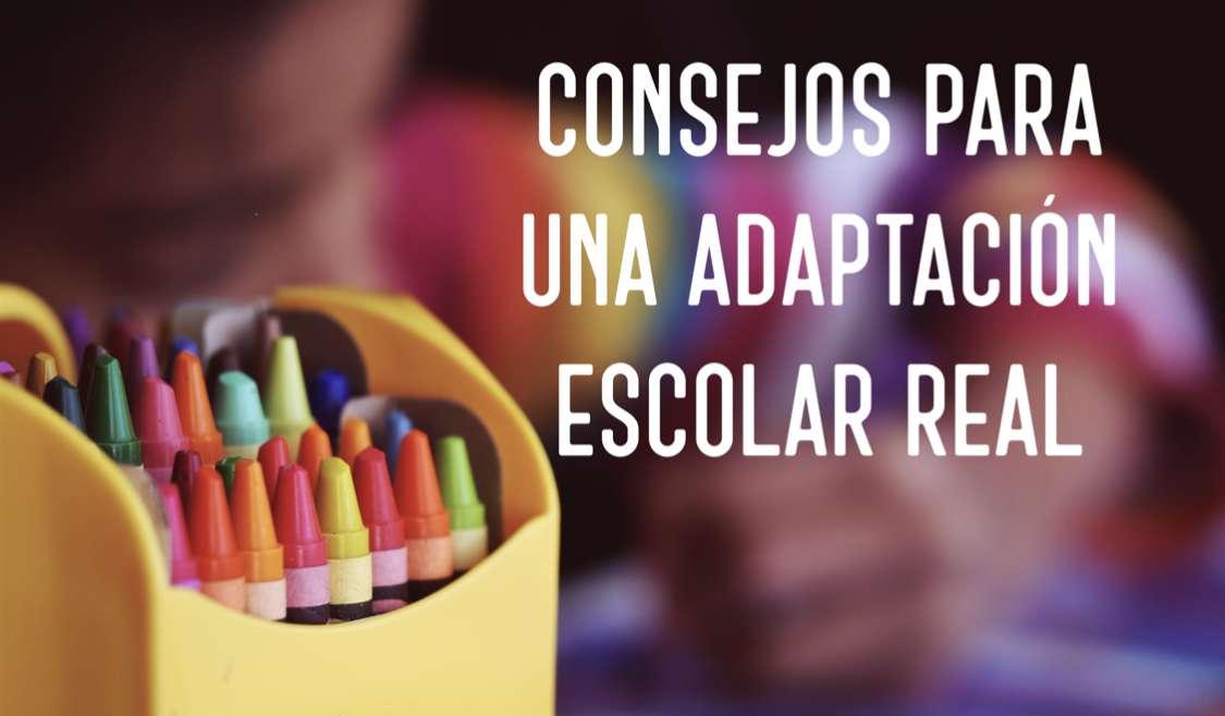 Consells per a professionals per a la implementació d'una adaptació escolar real